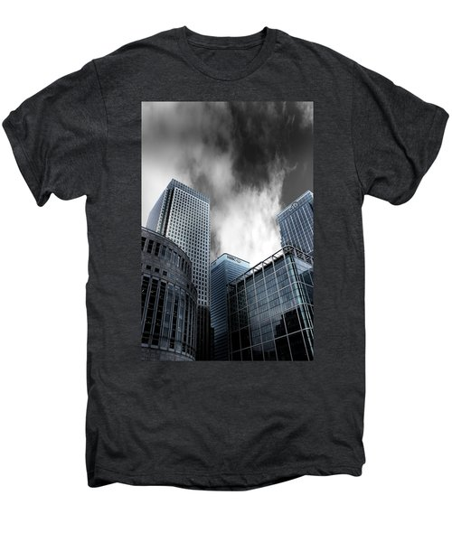 Canary Wharf Men's Premium T-Shirt by Martin Newman