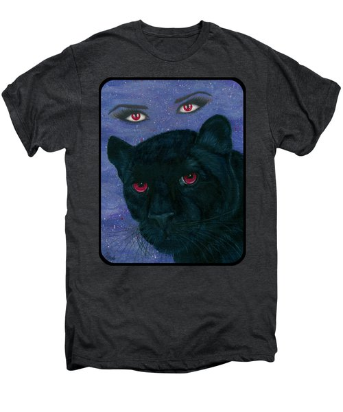 Carmilla - Black Panther Vampire Men's Premium T-Shirt by Carrie Hawks