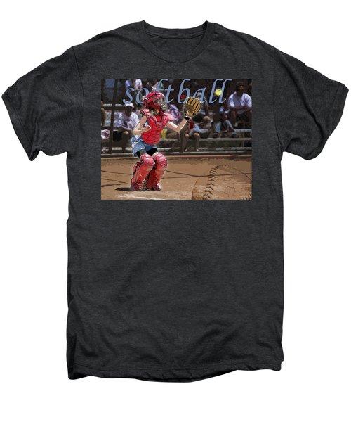 Catch It Men's Premium T-Shirt by Kelley King