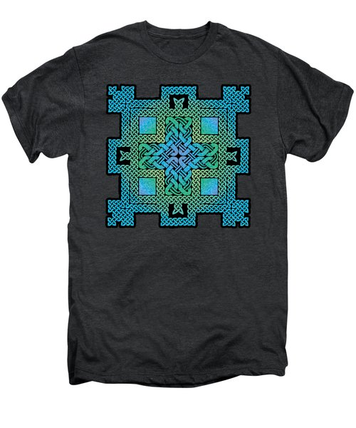 Celtic Castle Men's Premium T-Shirt by Kristen Fox