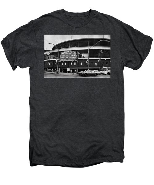 Chicago: Wrigley Field Men's Premium T-Shirt by Granger