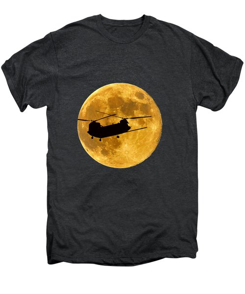 Chinook Moon Color .png Men's Premium T-Shirt by Al Powell Photography USA