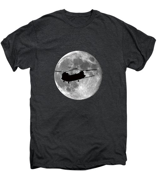 Chinook Moon .png Men's Premium T-Shirt by Al Powell Photography USA