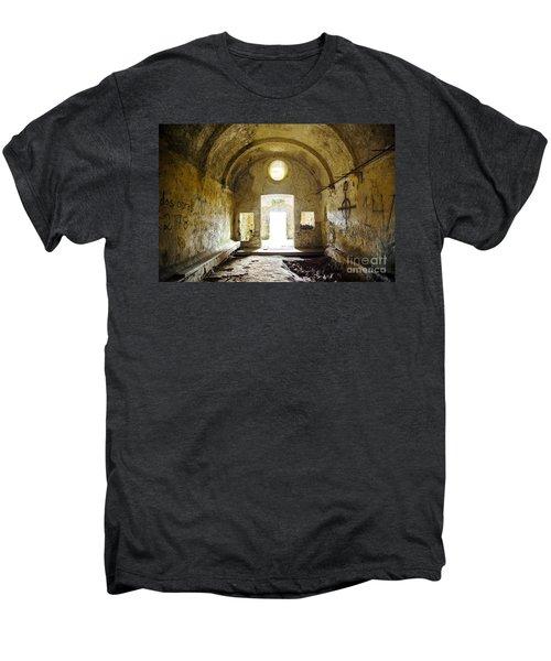 Church Ruin Men's Premium T-Shirt by Carlos Caetano