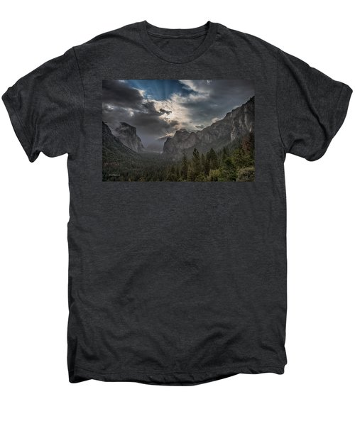 Clouds And Light Men's Premium T-Shirt by Bill Roberts