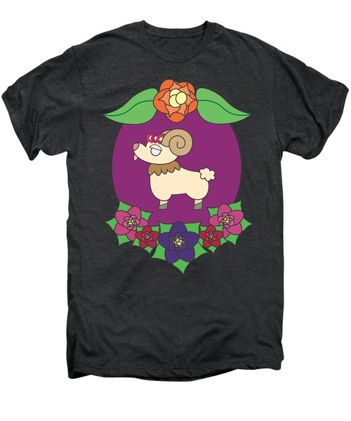 Cute Goat Men's Premium T-Shirt by Jadrien Douglas