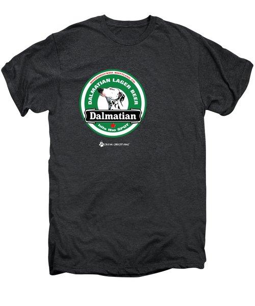 Dalmatian Lager Beer Men's Premium T-Shirt by John LaFree