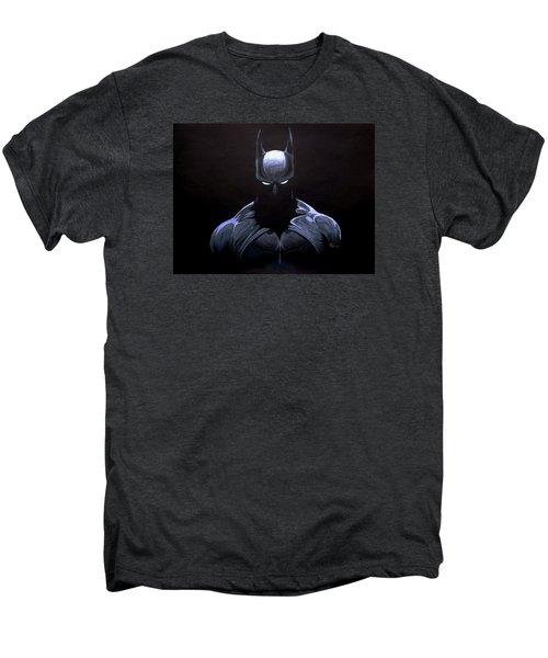 Dark Knight Men's Premium T-Shirt by Marcus Quinn