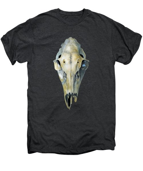 Deer Skull Aura Men's Premium T-Shirt by Catherine Twomey