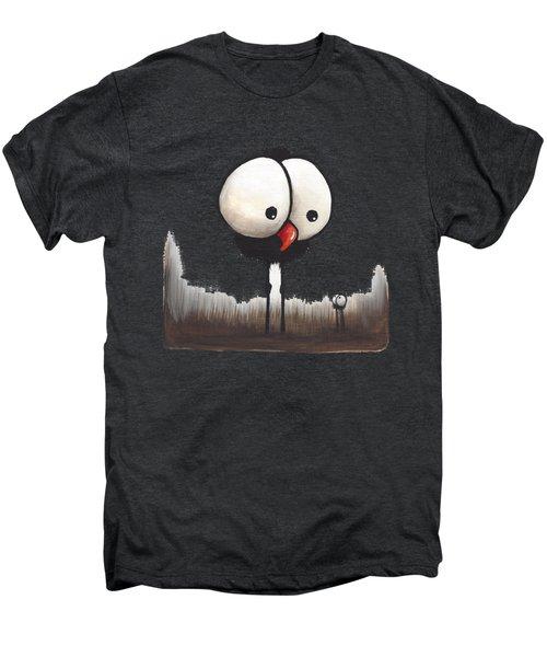 Defiant Little Spider Men's Premium T-Shirt by Lucia Stewart