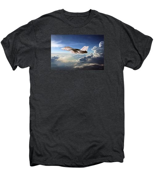 Diamonds In The Sky Men's Premium T-Shirt by Peter Chilelli