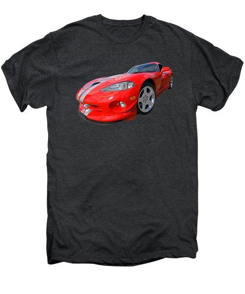 Dodge Viper Gts Men's Premium T-Shirt by Gill Billington