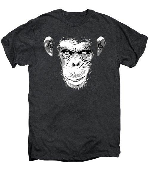 Evil Monkey Men's Premium T-Shirt by Nicklas Gustafsson