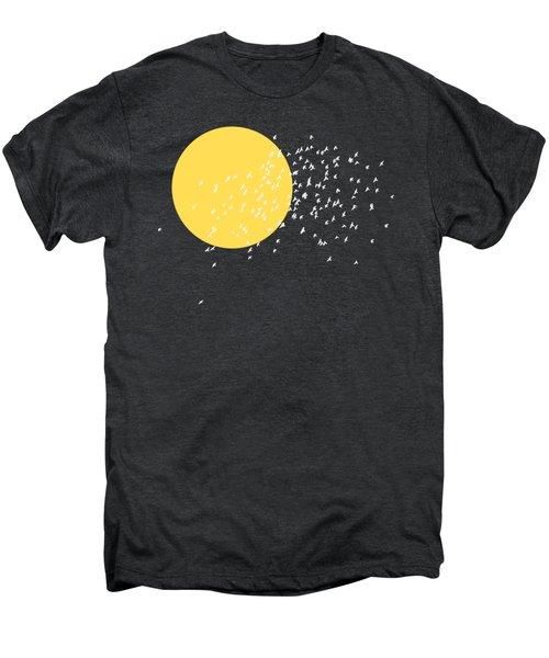 Flying Home Men's Premium T-Shirt by Sverre Andreas Fekjan