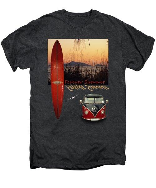 Forever Summer 1 Men's Premium T-Shirt by Linda Lees