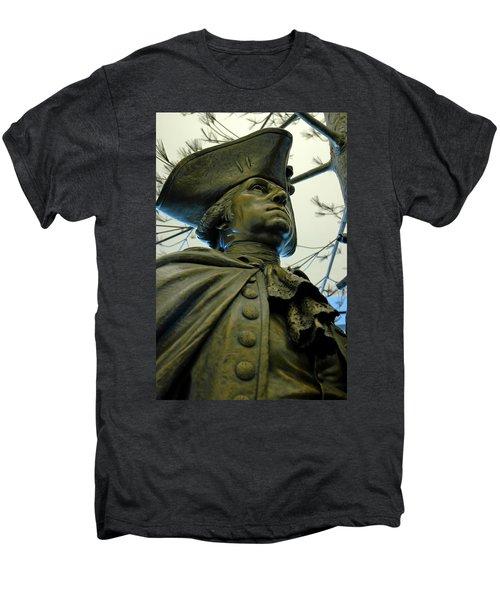 General George Washington Men's Premium T-Shirt by LeeAnn McLaneGoetz McLaneGoetzStudioLLCcom