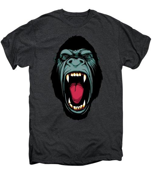 Gorilla Face Men's Premium T-Shirt by John D'Amelio