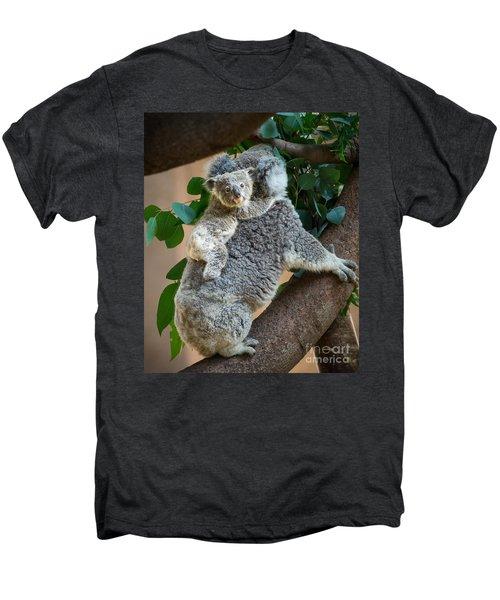 Hanging On Men's Premium T-Shirt by Jamie Pham
