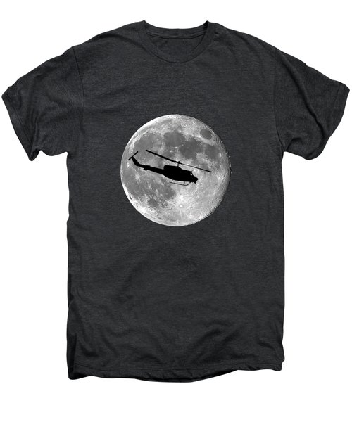 Huey Moon .png Men's Premium T-Shirt by Al Powell Photography USA