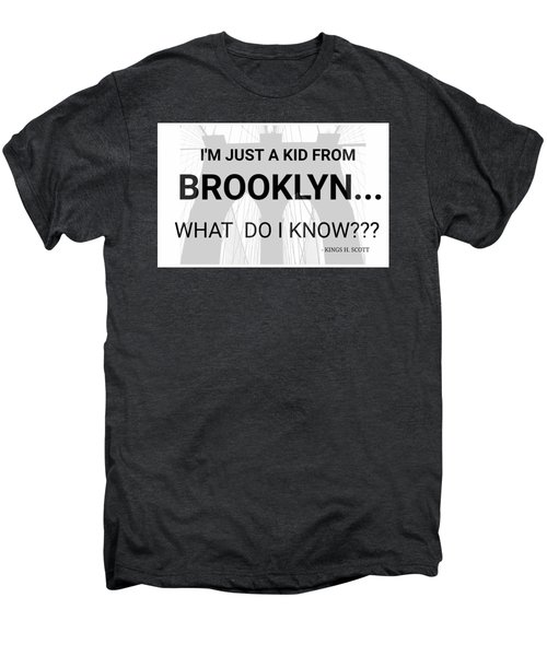 I'm Just A Kid... Men's Premium T-Shirt by Pat Odom