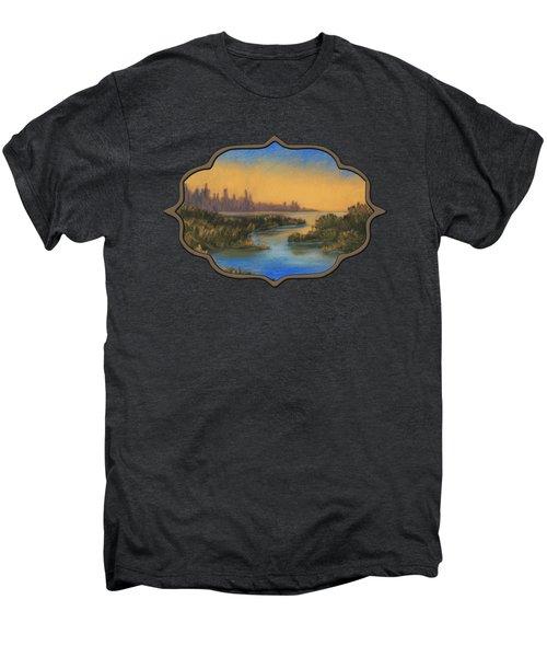 In The Distance Men's Premium T-Shirt by Anastasiya Malakhova