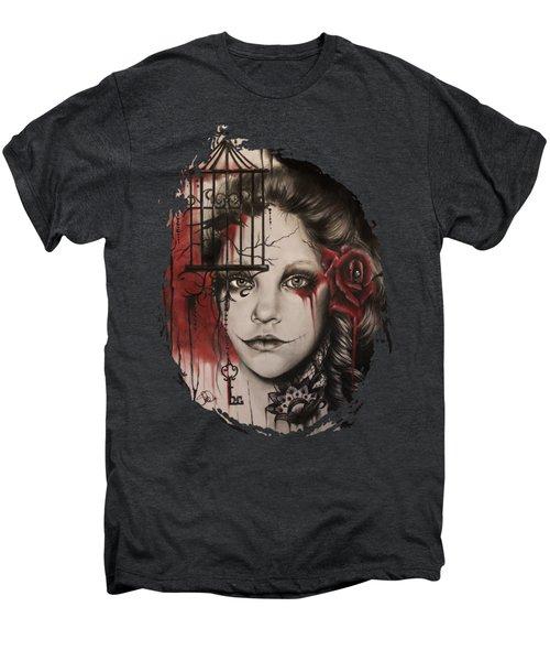 Inner Demons  Men's Premium T-Shirt by Sheena Pike