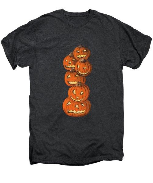 Jack-o-lantern Men's Premium T-Shirt by Anastasiya Malakhova