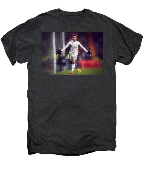 James Rodrigez Men's Premium T-Shirt by Semih Yurdabak