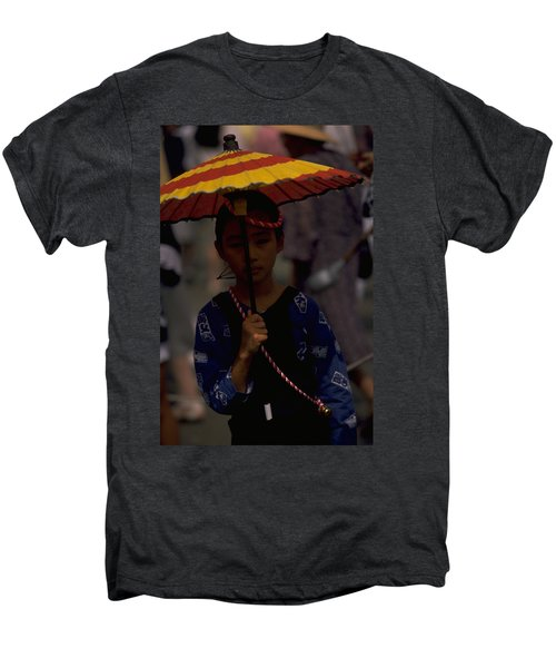 Men's Premium T-Shirt featuring the photograph Japanese Girl by Travel Pics