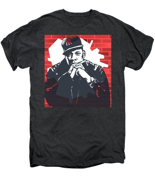 Jay Z Graffiti Tribute Men's Premium T-Shirt by Dan Sproul