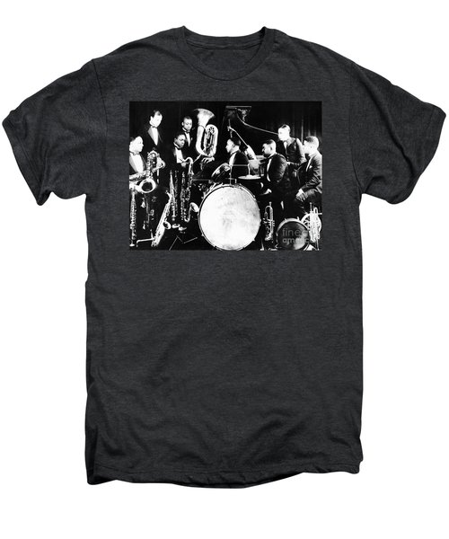 Jazz Musicians, C1925 Men's Premium T-Shirt by Granger