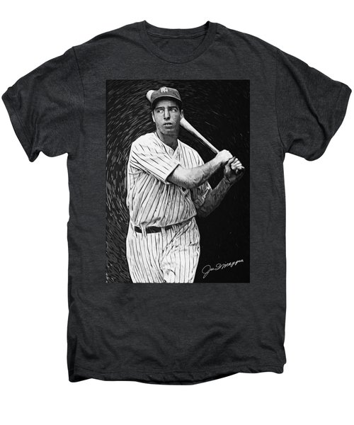 Joe Dimaggio Men's Premium T-Shirt by Taylan Soyturk