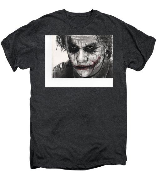 Joker Face Men's Premium T-Shirt by James Holko