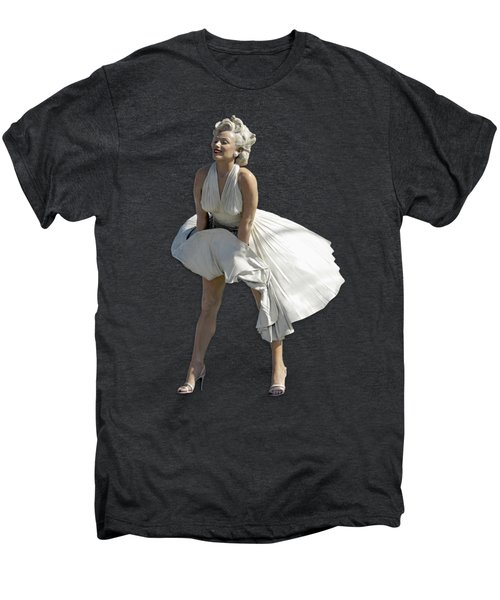Key West Marilyn - Special Edition Men's Premium T-Shirt by Bob Slitzan