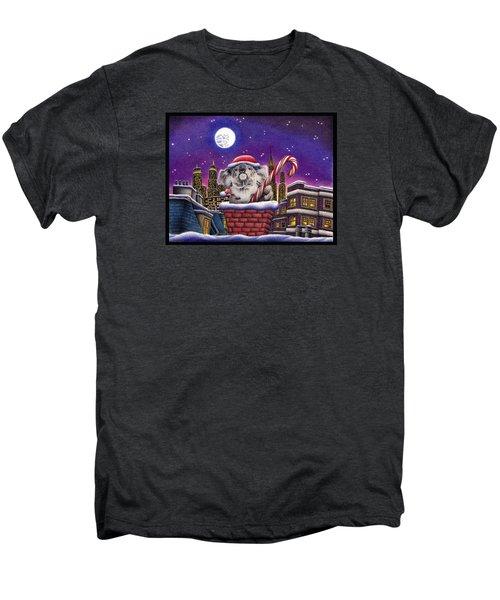 Koala In Chimney Men's Premium T-Shirt by Remrov