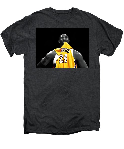 Kobe Bryant 04c Men's Premium T-Shirt by Brian Reaves