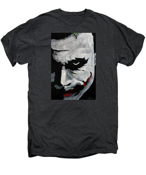 Ledger's Joker Men's Premium T-Shirt by Dale Loos Jr