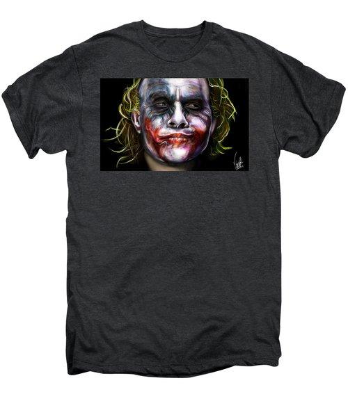 Let's Put A Smile On That Face Men's Premium T-Shirt by Vinny John Usuriello