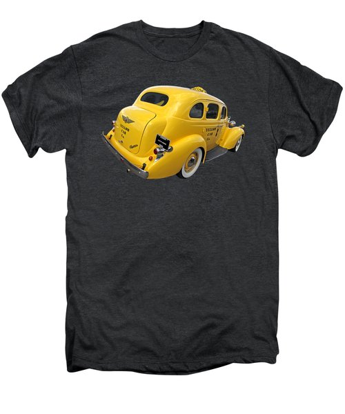 Let's Ride - Studebaker Yellow Cab Men's Premium T-Shirt by Gill Billington