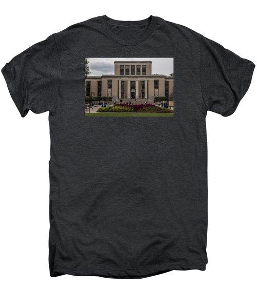 Library At Penn State University  Men's Premium T-Shirt by John McGraw