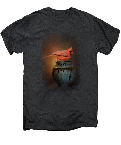 Little Red Guardian Men's Premium T-Shirt by Jai Johnson