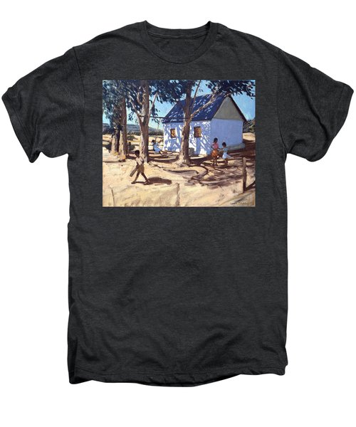 Little White House Karoo South Africa Men's Premium T-Shirt by Andrew Macara
