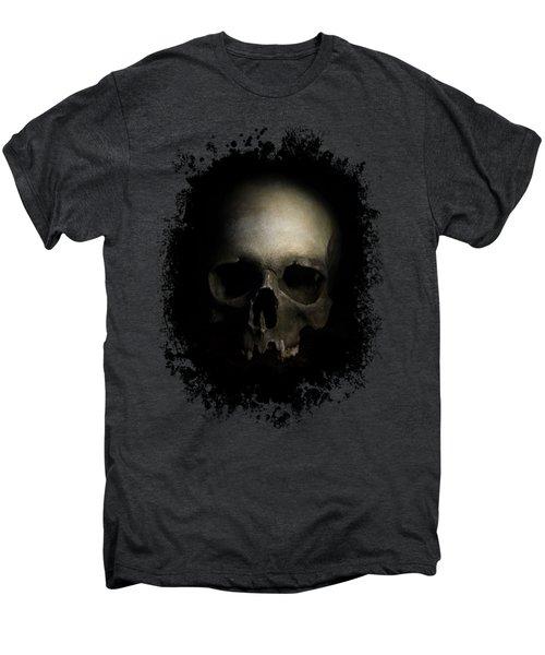 Male Skull Men's Premium T-Shirt by Jaroslaw Blaminsky