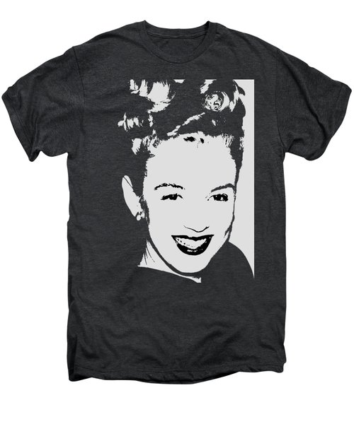 Marilyn Men's Premium T-Shirt by Joann Vitali