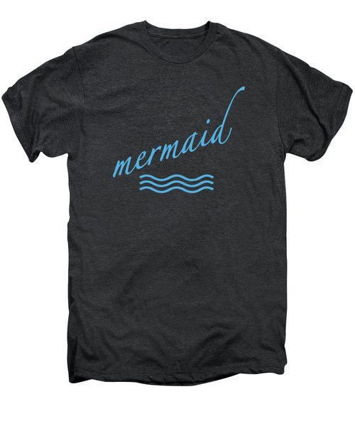Mermaid Men's Premium T-Shirt by Bill Owen