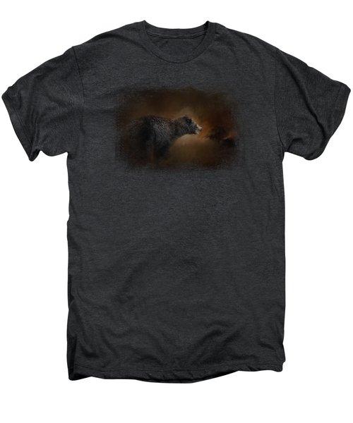 Moonlight Run Men's Premium T-Shirt by Jai Johnson