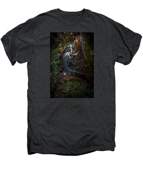 Mr Alley Gator Men's Premium T-Shirt by Marvin Spates