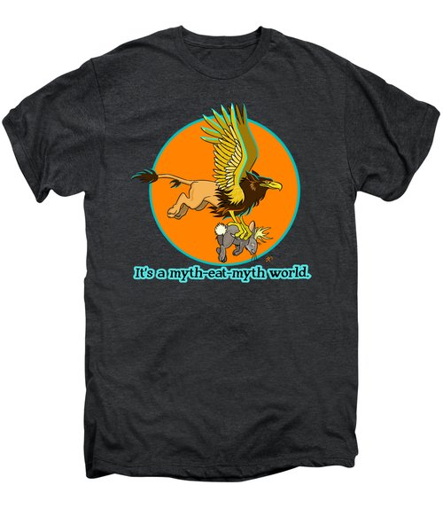 Mythhunter Men's Premium T-Shirt by J L Meadows