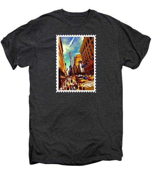 New York City Hustle Men's Premium T-Shirt by Elaine Plesser