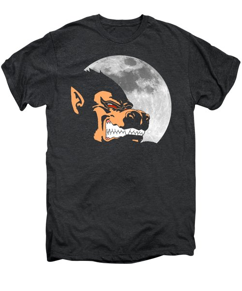 Night Monkey Men's Premium T-Shirt by Danilo Caro